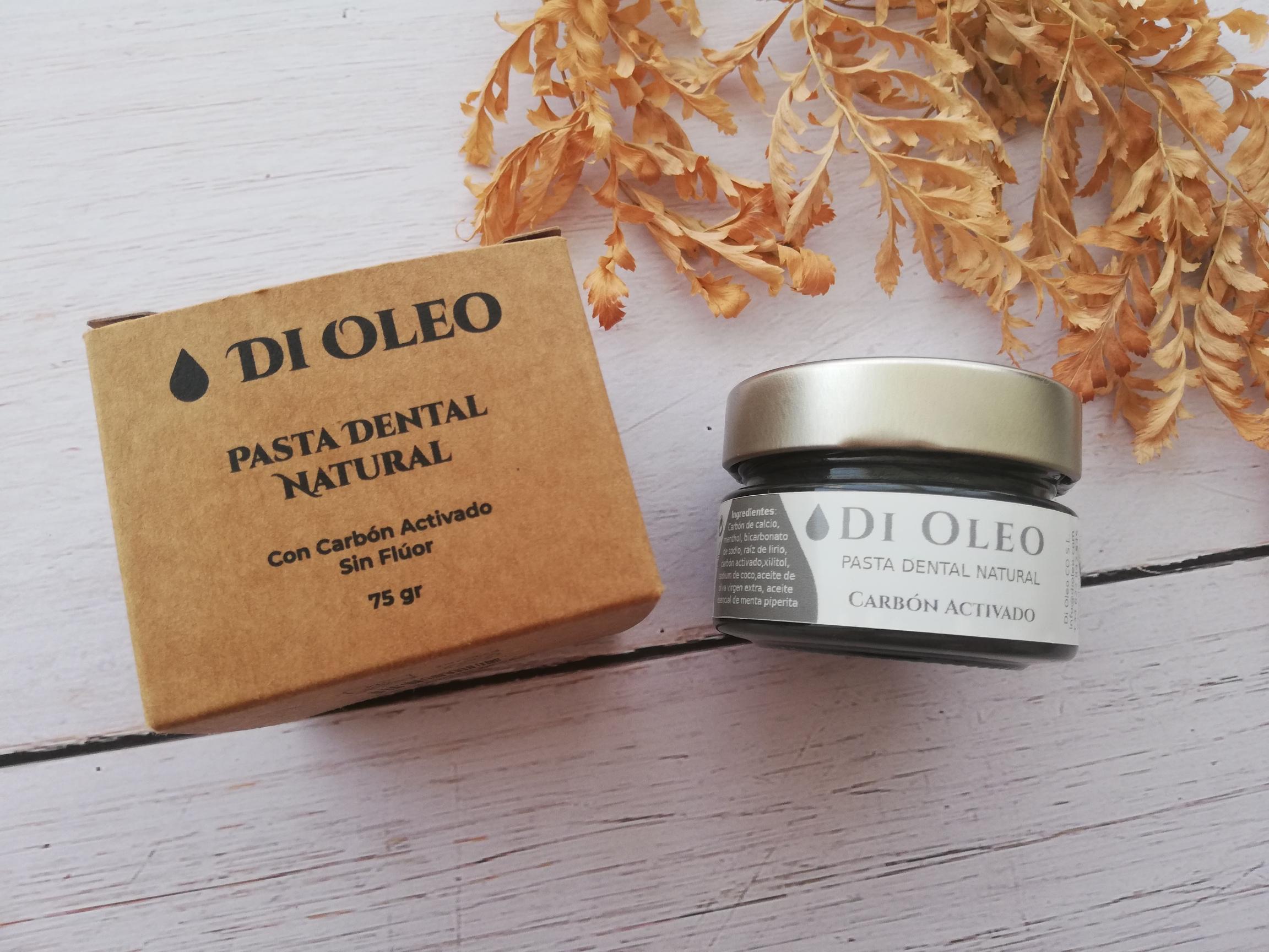 Di Oleo AOVE aceite de oliva carbón activado