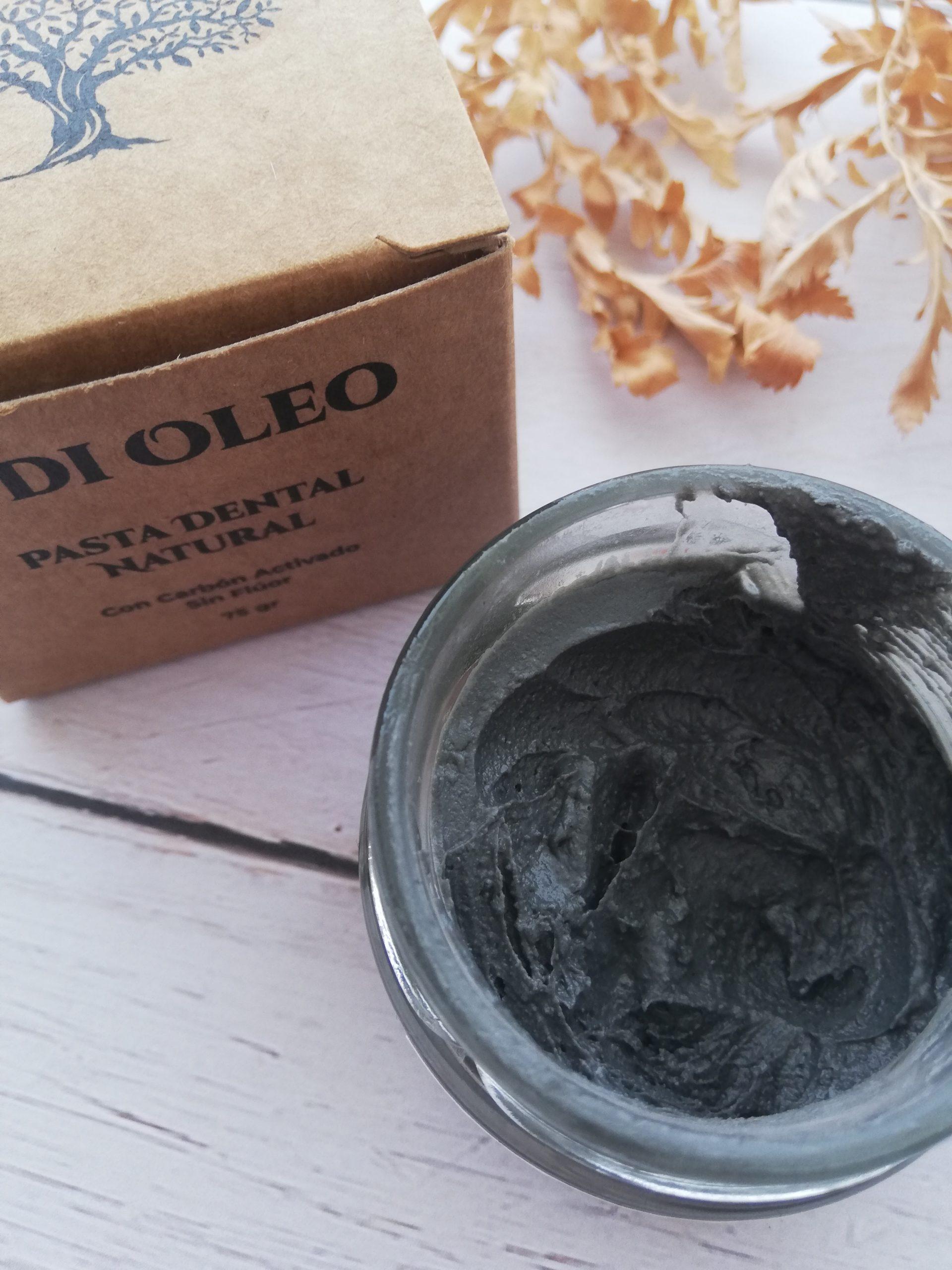 aove carbón activado di oleo pasta dental
